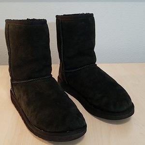 Ugg short boots 5251 black size 6